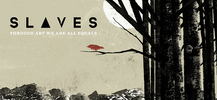 slaves cover - Slaves - Through Art We Are All Equals (Album review)