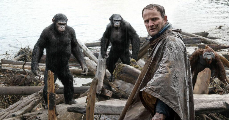 Still from Dawn of the Planet of the Apes