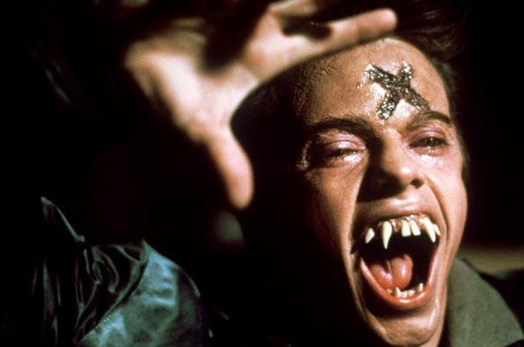 "Stephen Geoffrey as Ed ""Evil"" Thompson in Fright Night"