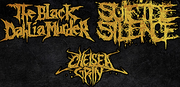 suicide silence poster1 - Suicide Silence & The Black Dahlia Murder team up for Fall North American Tour