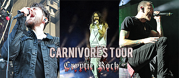 carnivores tour 4 - Carnivores Tour devours Jones Beach, NY 8-19-14 w/ Linkin Park, 30 Seconds To Mars, & AFI