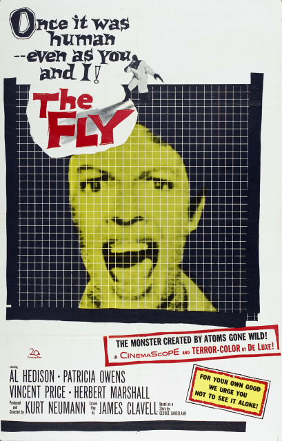 fly 1958 poster - Interview - Jeffrey Wellfare of Capture The Crown