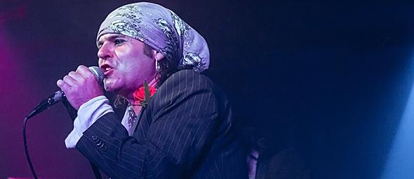 london slide - London Quireboys celebrate 30th anniversary Revolution Bar & Music Hall Amityville, NY 8-27-14