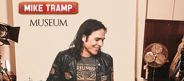 mike tramp album cover1 - Mike Tramp - Museum (Album Review)