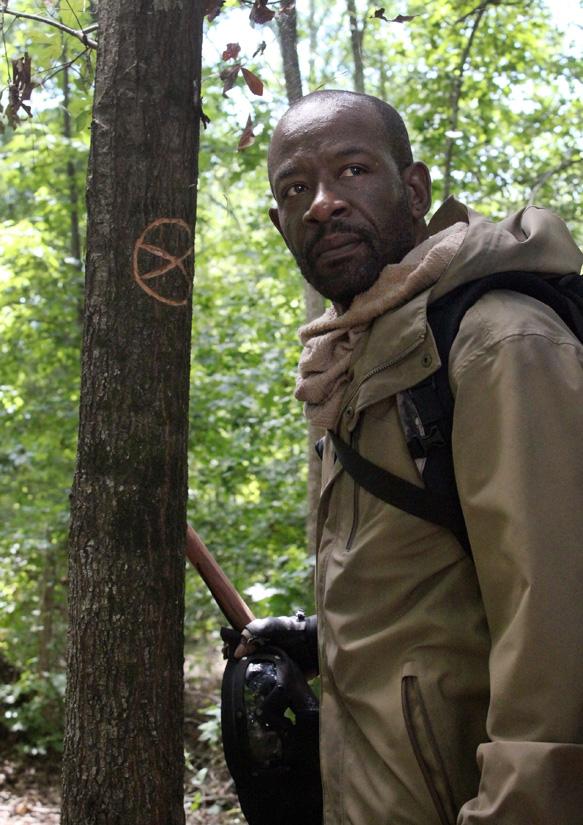 Lennie James as Morgan Jones - The Walking Dead _ Season 5, Episode 8 - Photo Credit: Greg Nicotero/AMC