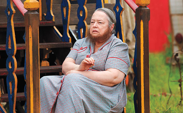AMERICAN HORROR STORY -- Pictured: Kathy Bates as Ethel Darling. CR: Michele K. Short/FX