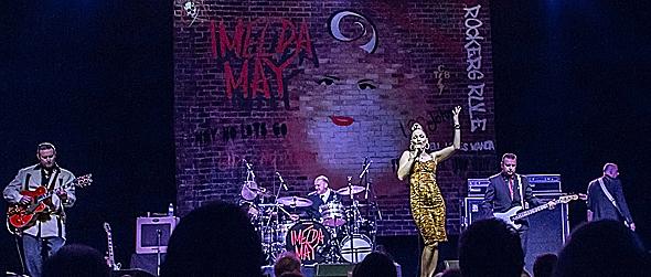 imedla slide 2 edited 1 - Imelda May Irresistible at The Paramount Huntington, NY 9-28-14