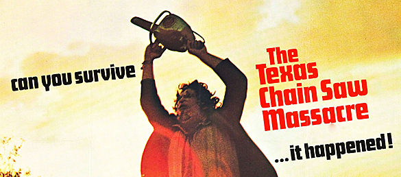 texas chainsaw massacre 1 poster 08 edited 1 - The Texas Chainsaw Massacre celebrates 40th Anniversary