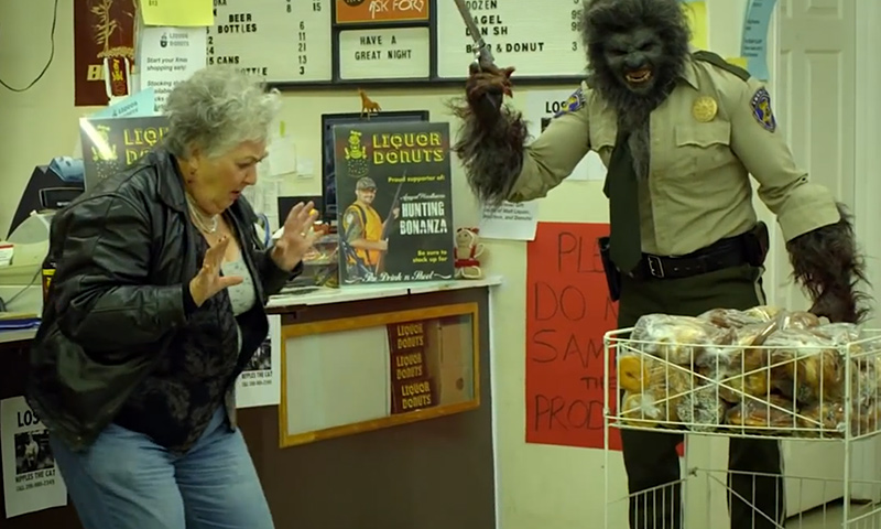 Still from WolfCop