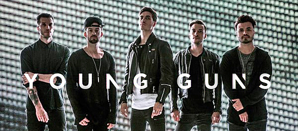 young guns new slide - You Me At Six ride high at Upstate Concert Hall 10-25-14 w/ Young Guns & Stars in Stereo