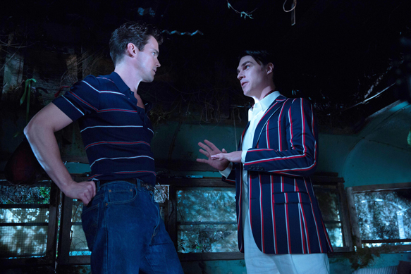 "AMERICAN HORROR STORY: FREAK SHOW ""Pink Cupcakes""- Episode 405 (Airs Wednesday, November 5, 10:00 PM e/p) --Pictured: (L-R) Matt Bomer as Andy, Finn Wittrock as Dandy Mott. CR: Michele K. Short/FX"