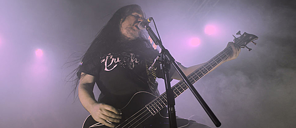 carcass for slide - Carcass tear up final night of tour Mojoes Joliet, IL 11-15-14 w/ Macabre, Exhumed, & Noisem
