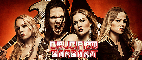 crucfied slide - Interview - Klara Force of Crucified Barbara