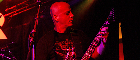 dying slide - Dying Fetus rampage through Revolution Amityville, NY 10-19-14