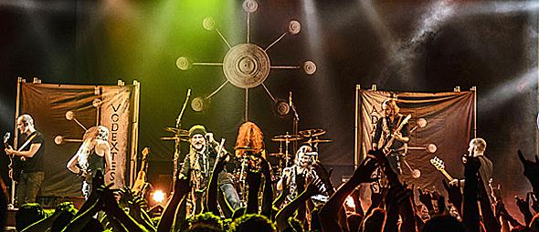 eluveite slide edited 1 - Eluveitie, TYR, & Metsatöll musical celebration House of Blue Sunset Strip Hollywood, CA 10-2-14