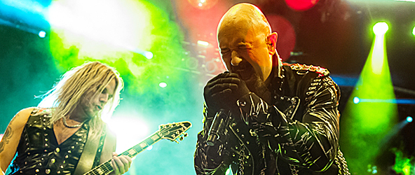 judas slide - Judas Priest Hell Bent at Barclays Center Brooklyn, NY 10-9-14 w/ Steel Panther