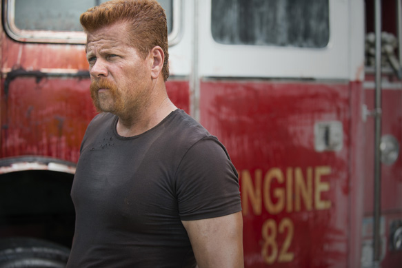 Michael Cudlitz as Abraham - The Walking Dead _ Season 5, Episode 5 - Photo Credit: Gene Page/AMC