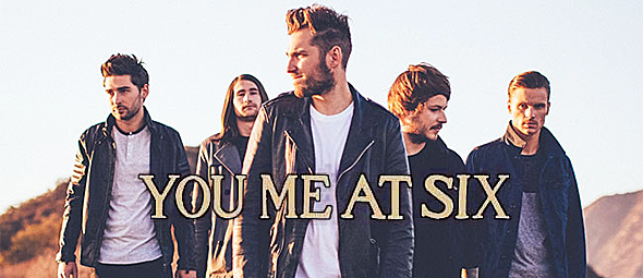 you me at six slide - Interview - Chris Miller of You Me At Six