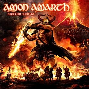 Amon Amarth Surtur Rising album cover - Interview - Olavi Mikkonen of Amon Amarth