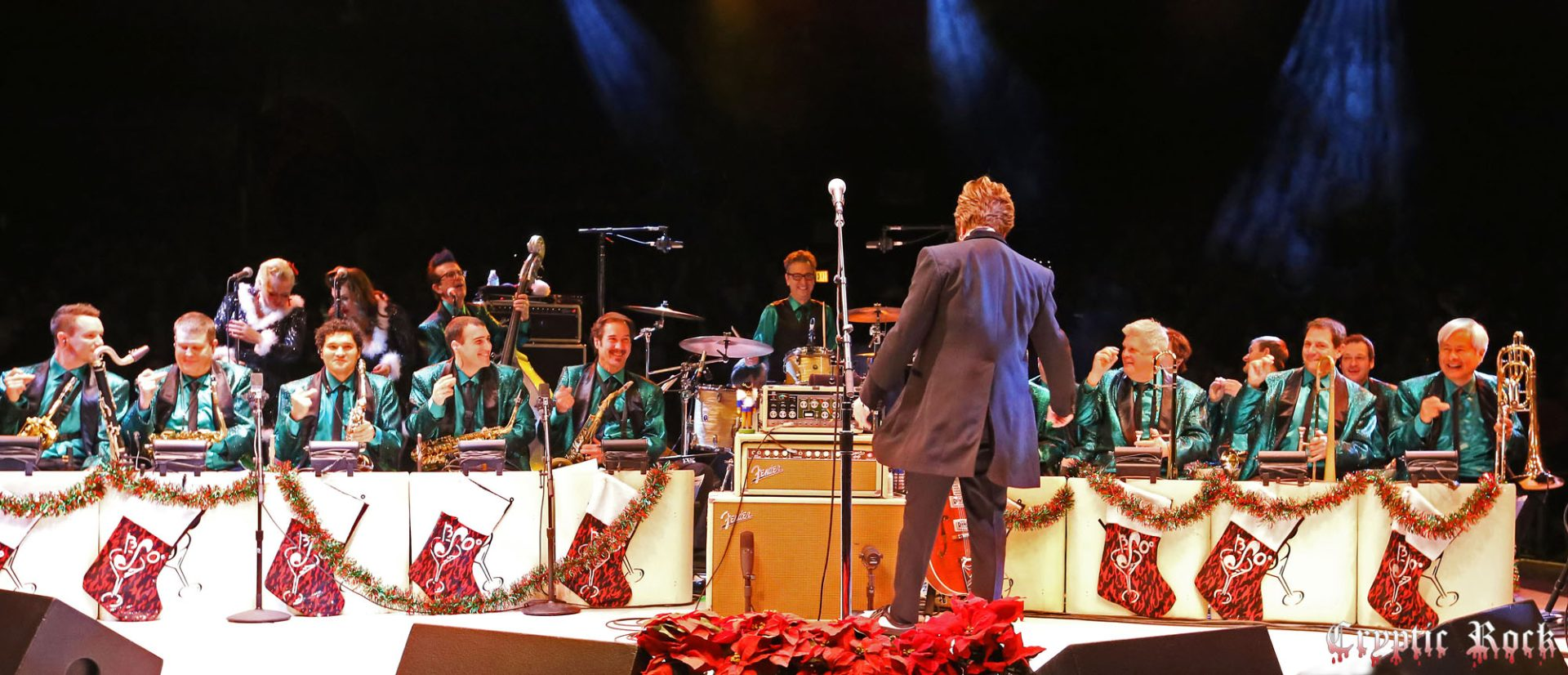 Brian Setzer Orchestra bring Christmas Rock Extravaganza to NYCB ...
