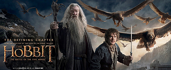 The Hobbit The Battle of the Five Armies banner 8 - The Hobbit: The Battle of the Five Armies (Movie Review)