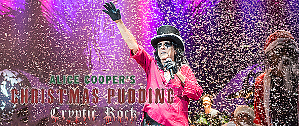 alice pudding slide 2 - Alice Cooper serves up Christmas Pudding in Phoenix, AZ 12-13-14
