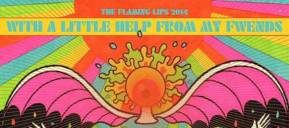 flaming lips album1 - The Flaming Lips - With a Little Help From My Fwends (Album Review)