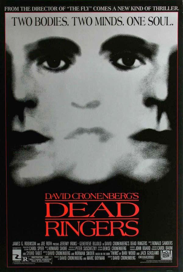 poster dead ringers david cronenberg - Interview - Mick Garris