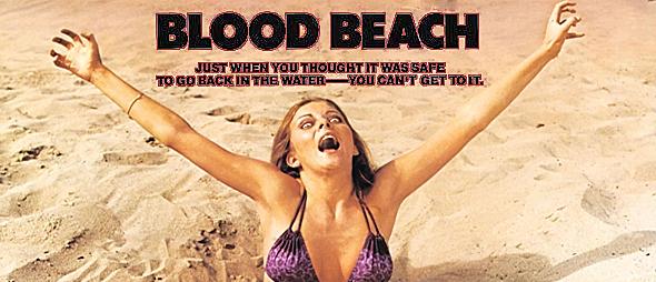 blood beach big slide - This Week in Horror Movie History - Blood Beach (1981)