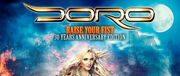 doro slide - Doro - Raise Your Fist 30th Anniversary Edition (Album Review)