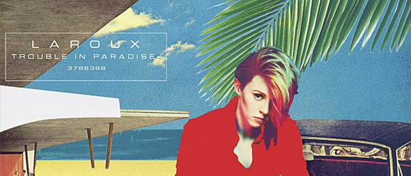 la roux album cover edited 1 - La Roux - Trouble in Paradise (Album Review)