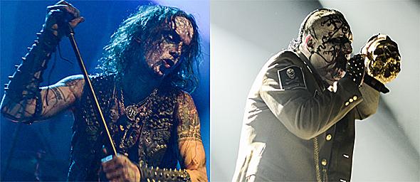 watain slide - Mayhem & Watain wage Black Metal Warfare on NYC 1-10-15
