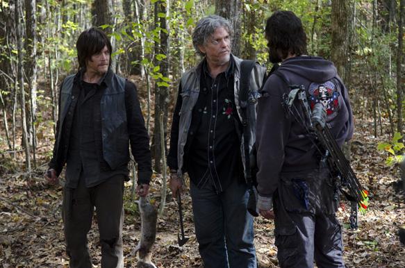 Daryl Dixon (Norman Reedus), and Jeff Kober - The Walking Dead _ Season 4, Episode 15 - Photo Credit: Gene Page/AMC