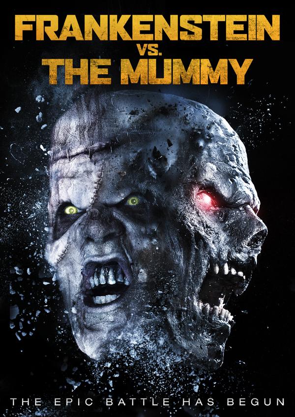 frankenstein vs mummy cover