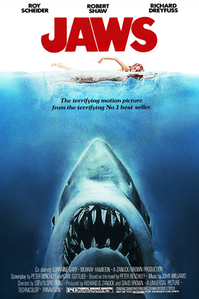 jaws movie wallpaper poster - Favorite Horror Movies Revealed: Victor Love of Dope Stars Inc.