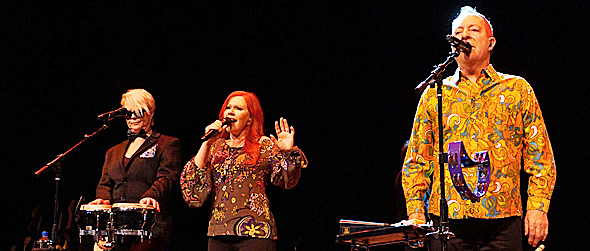 new for slide edited 2 - The B-52s groovier than ever The Space at Westbury, NY 1-30-15