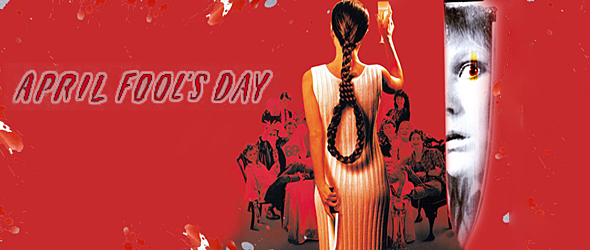 april fools slide - This Week in Horror Movie History - April Fool's Day (1986)