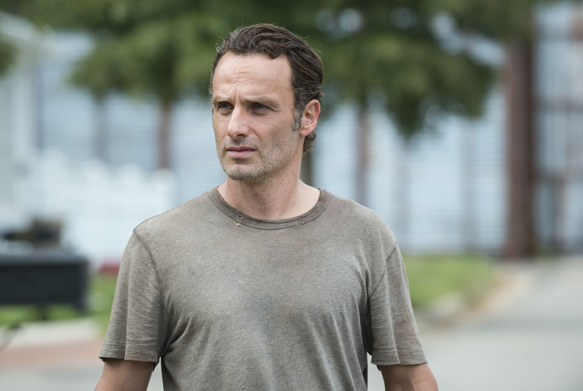 Andrew Lincoln as Rick Grimes - The Walking Dead _ Season 5, Episode 12 - Photo Credit: Gene Page/AMC