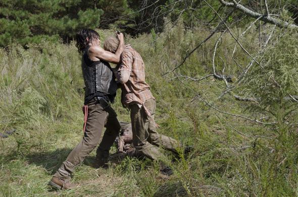 Norman Reedus as Daryl Dixon - The Walking Dead _ Season 5, Episode 13 - Photo Credit: Gene Page/AMC