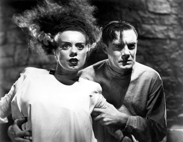 Still from The Bride of Frankenstein
