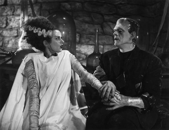 Bride of Frankenstein Monster and Bride - The Bride of Frankenstein turns 80 years old