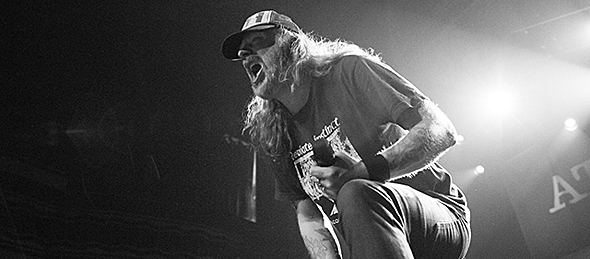 at the gates 15 - At The Gates epic return to NYC 4-12-15 w/ Vallenfyre, Pallbearer, & Converge