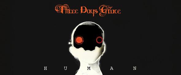 three days grace album cover1 - Three Days Grace - Human (Album Review)