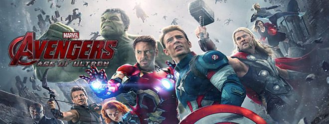 avengers age of ultron group banner 1 - Avengers: Age of Ultron (Movie Review)