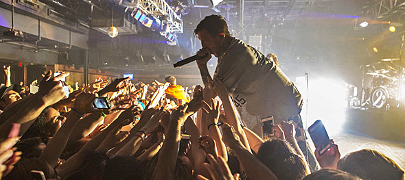 omma slide - Of Mice & Men reach new heights in New Jersey 5-11-15 w/ Volumes & Crown The Empire