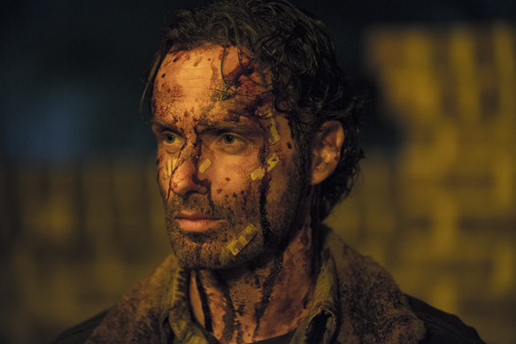 Andrew Lincoln as Rick Grimes - The Walking Dead _ Season 5, Episode 16 - Photo Credit: Gene Page/AMC