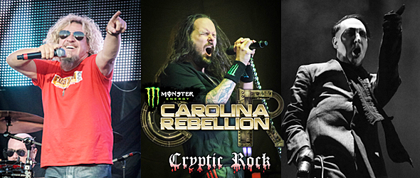 carolina rebellion 2015 day one slide - Carolina Rebellion Day One: Diverse & Dynamic 5-2-15