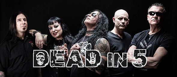dead in 5 slide - Developing Artist Showcase - Dead in 5