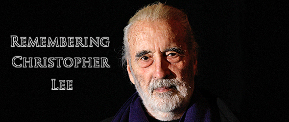 lee tribute slide - Christopher Lee - An Exceptional Man, An Extraordinaire Life