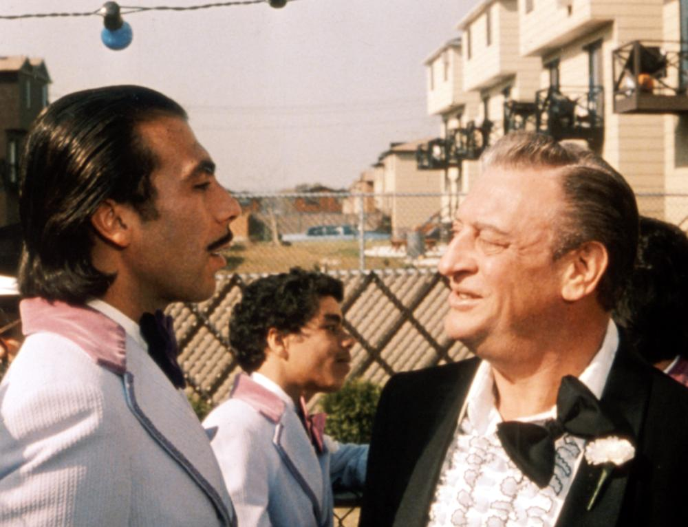EASY MONEY, Taylor Negron, Rodney Dangerfield, 1983. (c) Orion Pictures.